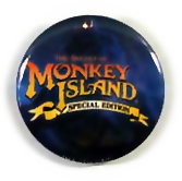 Promotional Button for The Secret of Monkey Island: Special Edition