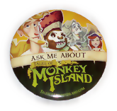Promotional Button for Tales of Monkey Island