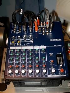 My Yamaha MG102c Mixer.