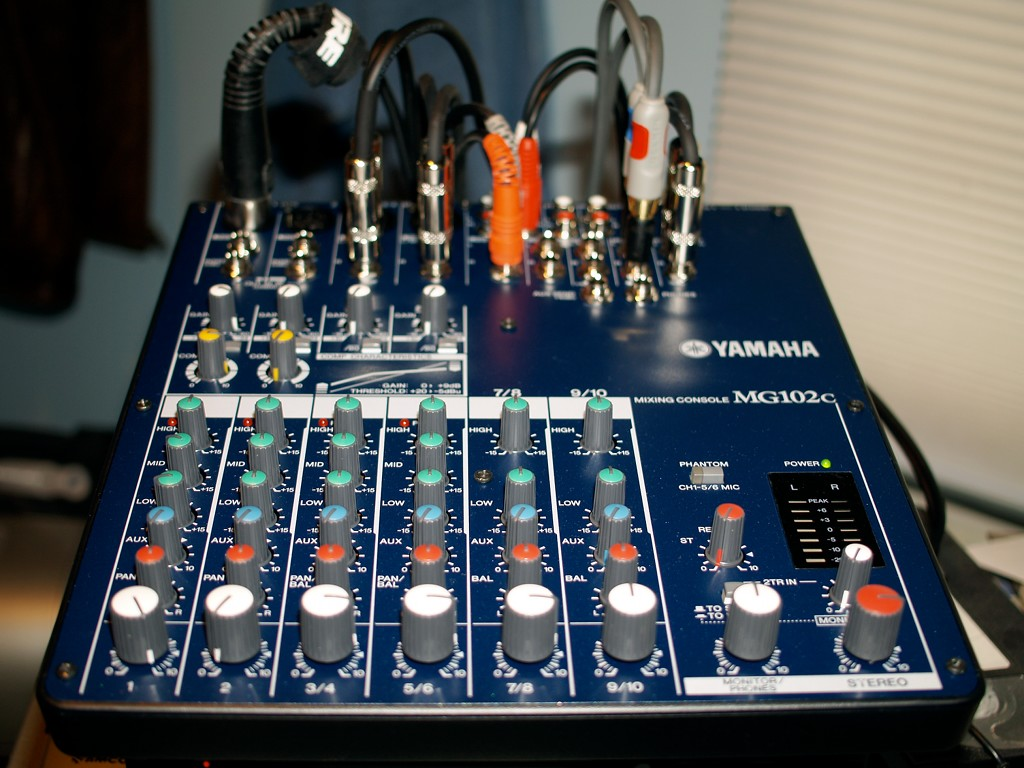 Synth studio weblog blog archive new gear yamaha for Yamaha mixer replacement parts