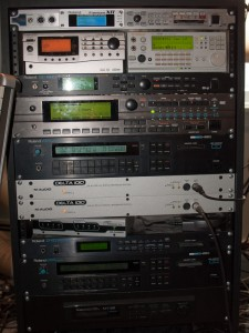My synth rack, as of Mar. 18 2010